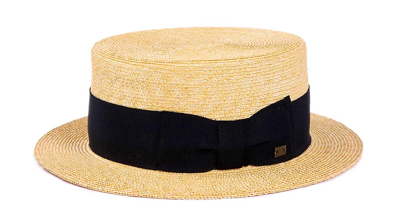 夏 帽子 カンカン 上品