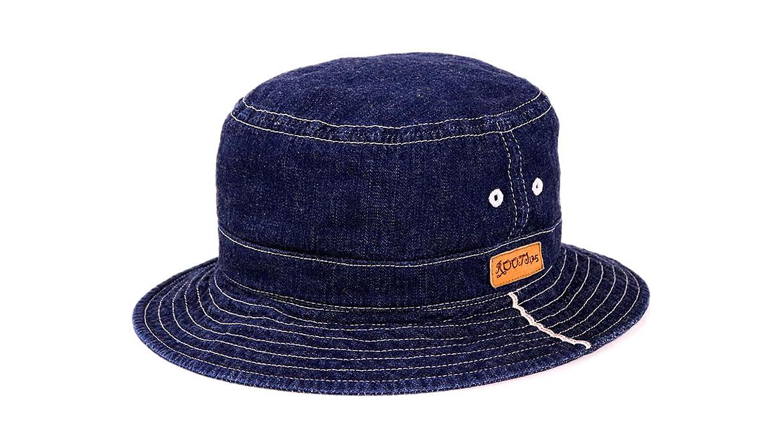 帽子 夏 デニム バケット