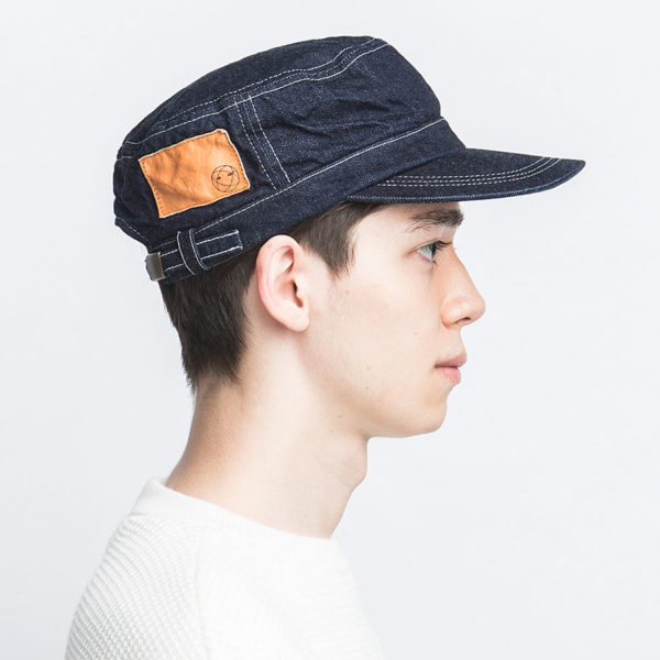 SELVEDGE INDIGO DENIM WORK CAP
