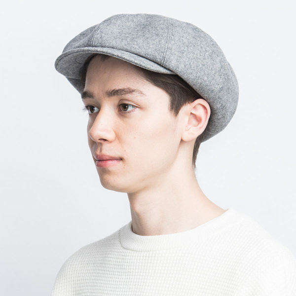 LAMB WOOL MELTON HUNTING BERET