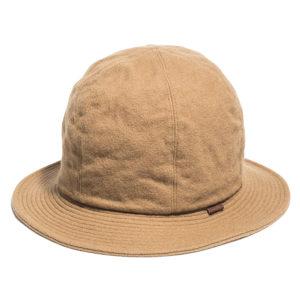 LAMB WOOL MELTON ALUMINUM BOWLER HAT