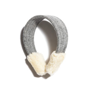 WOOL FELT FUR HEADBAND