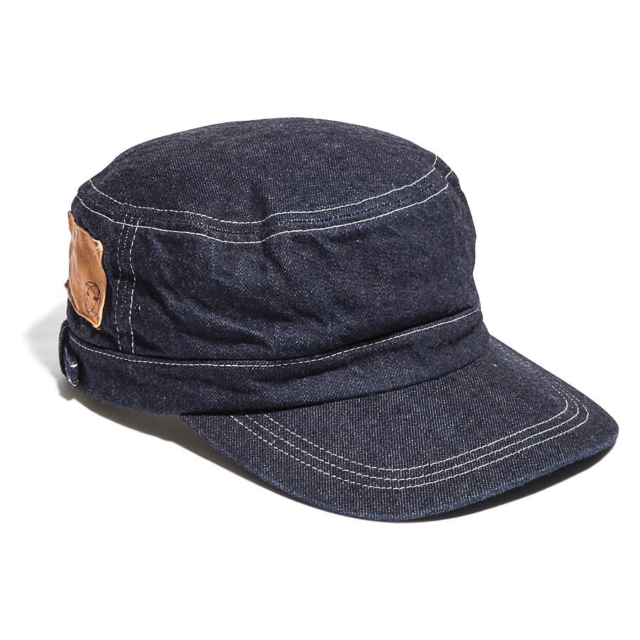SELVEDGE INDIGO DENIM WORK CAP