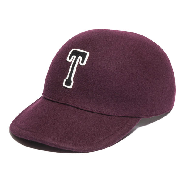 T PATCH WOOL FELT CAP