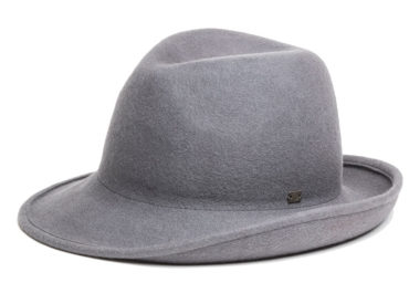 WOOL ASYNMMETRY FOLD HAT (17AWN-003)