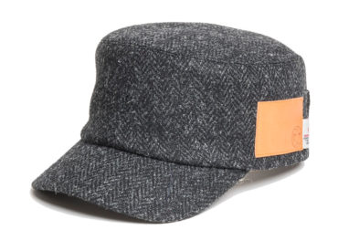 HARRIS TWEED CINCH BACK WORK CAP (17AWS-003)