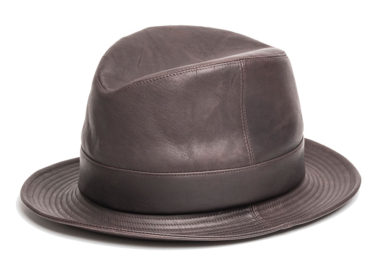 HORSE LEATHER FOLD HAT (17AWS-007)