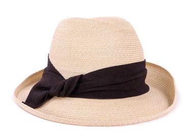 LINEN BLADE ASYMMETRY HAT (18SSN-005)