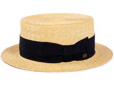 FINE BLADE STRAW HAT (18SSS-002)