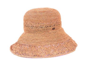 RAFFIA LACE HAT (18SSS-005)