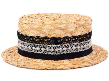 MIX BLADE STRAW HAT (18SSS-024)