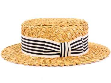 FLOWER STRAW HAT (18SSS-028)