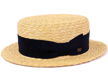 THREE BLADE STRAW HAT (18SSS-006)