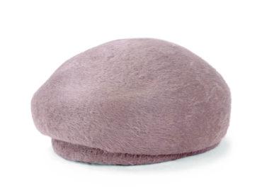 LONG BEAVER BERET CAP (18AWN-001)