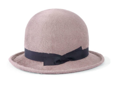 LONG BEAVER BOWLER HAT (18AWN-005)