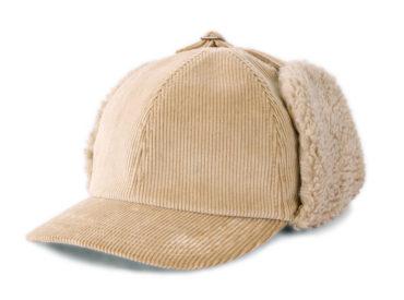 CORDUROY EARMUFF CAP (18AWS-001)