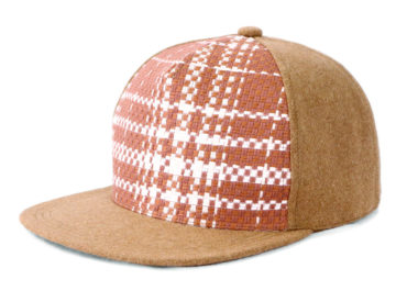 FAKE LINEN TWEED MELTON CAP (18AWS-003)
