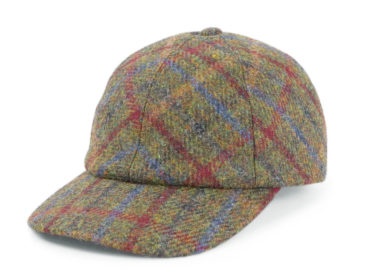 ALL HARRIS TWEED CAP (18AWS-016)