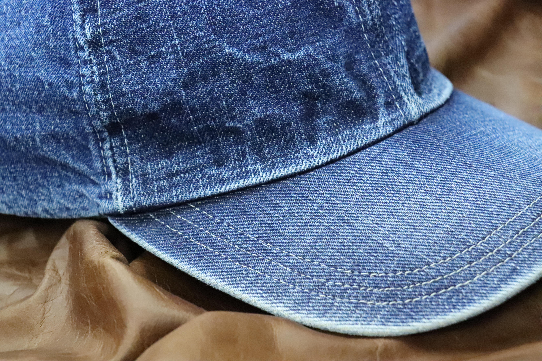 デニム 経年変化 帽子 エイジング