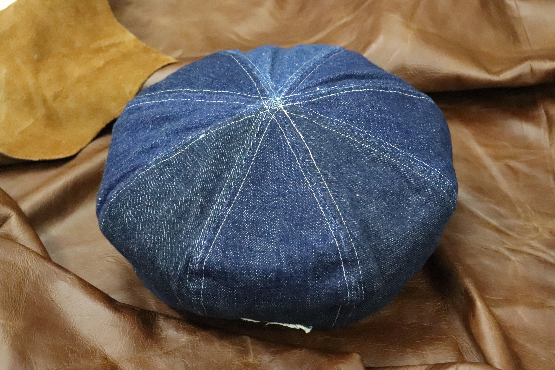 デニム 経年変化 エイジング 帽子